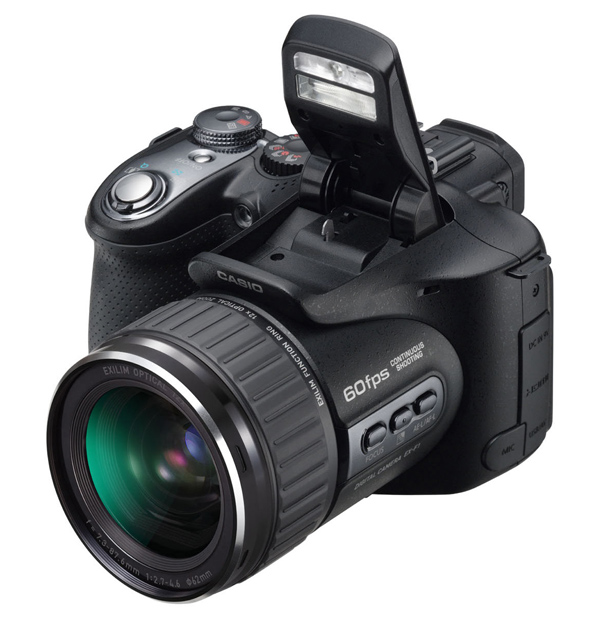 Casio EX-F1, una cámara digital ultralenta