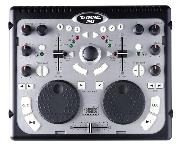 Hercules dj console mp3 la fiesta port til for Mesa de mezclas virtual