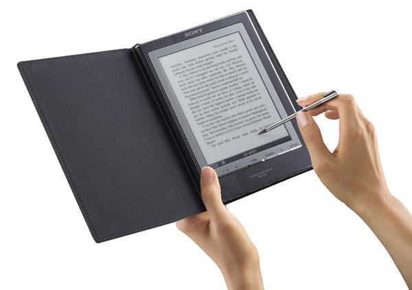 Sony PRS-700, lector de libros electrónicos con pantalla táctil