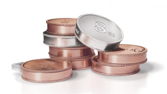 LaCie CurrenKey, memorias USB con forma de moneda