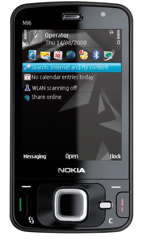Nokia N96 – A fondo