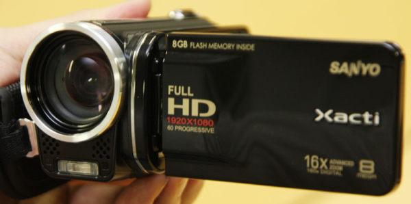 Sanyo Xacti DMX-HD2000 y DMX-FH11, videocámaras compactas de alta resolución