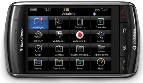 BlackBerry Storm de Vodafone – A fondo