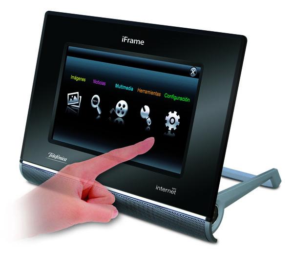 iFrame 0610, un marco digital multifunción