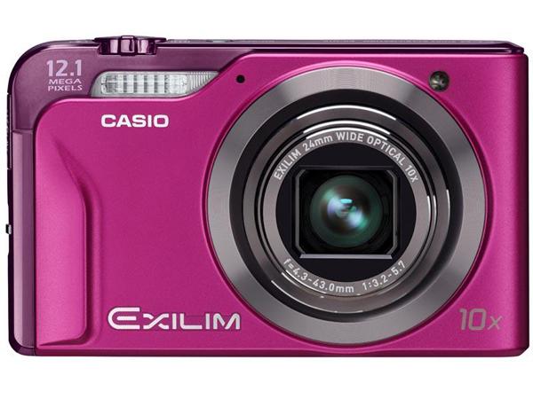 Casio Exilim EX-H10, una cámara con zoom óptico de diez aumentos