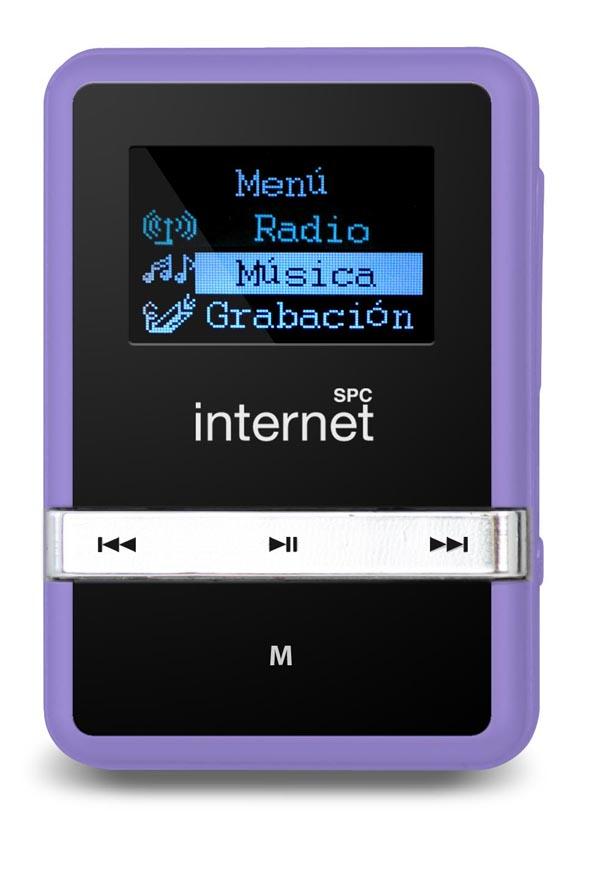 SPC Internet 8042 y 8044, un reproductor MP3 práctico y funcional