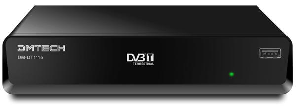 DMTech DM-DT 1115, sintonizador de TDT con grabación