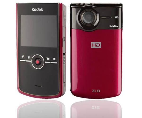 Kodak Zi8, videocámara ultracompacta con subida directa a Facebook