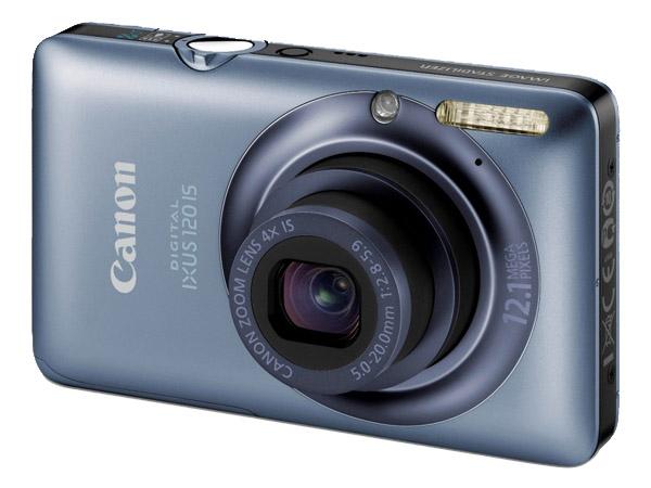 Canon Digital Ixus 120IS, la ultra-angular ultra-compacta más delgada de Canon