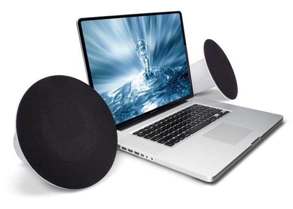 Lacie sound2 altavoces de dise o con buen sonido para - Altavoces de diseno ...