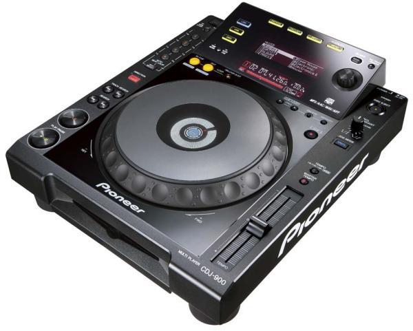 Pioneer CDJ- 900, un reproductor para DJs con USB y ethernet