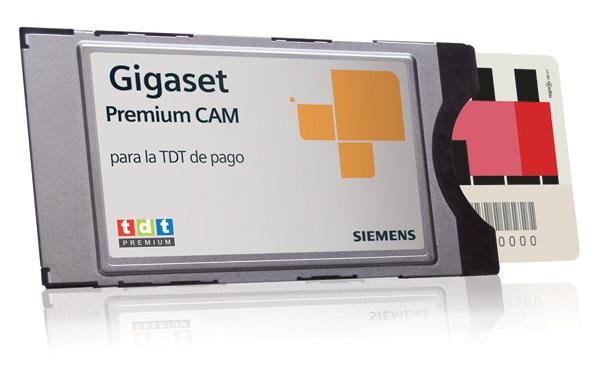 Siemens Gigaset Premium Cam y M295T CA, dos sintonizadores para la TDT de pago