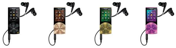Sony NW-A840, un reproductor multimedia que planta cara al iPod