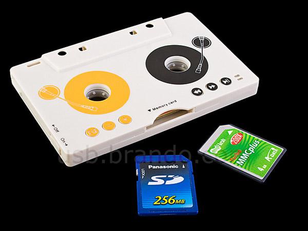 USB Cassette MP3 Player, un MP3 portátil que funciona como cinta en el reproductor del coche