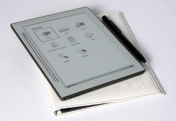 iRex DR800SG, lector de ebooks 3G con pantalla táctil de 8 pulgadas