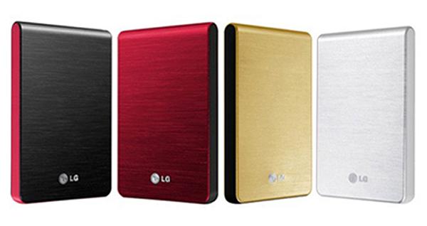 LG XD3, los discos duros para llevar