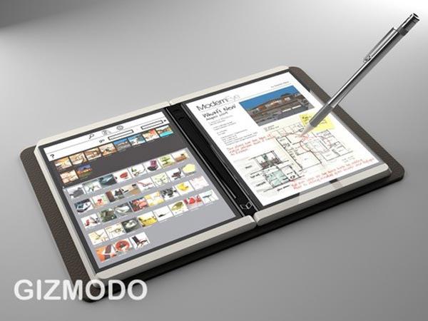 Microsoft Courier, no es una tipografía, no es una Tablet PC, ¿es una libreta electrónica?