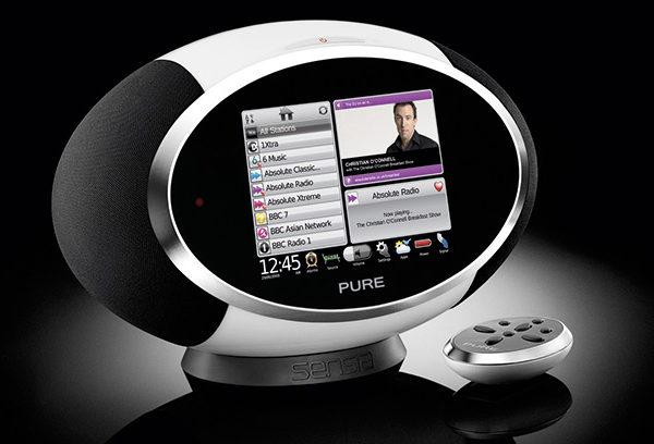 Pure Sensia, una radio Wi-Fi con carácter social