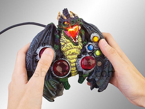 Brando Dragon, Samurai y Ninja Gamepads, tres mandos USB horripilantes
