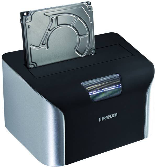 Freecom Hard Drive Dock, base de conexión de discos duros