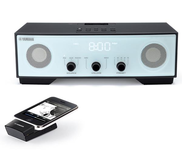 Yamaha TSX-W80, una base para el iPod sin cables y de diseño retro