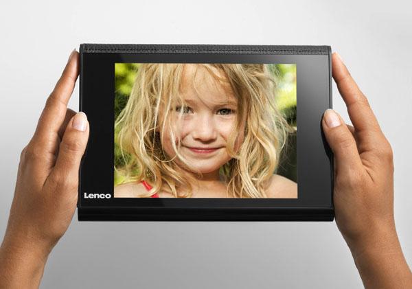 Lenco DPA-800, un álbum fotográfico digital con una pantalla de 8 pulgadas