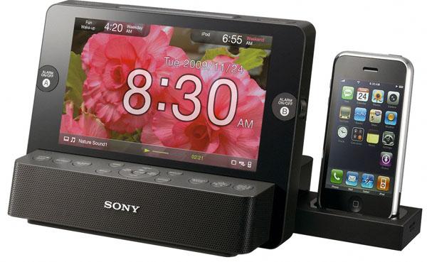Sony ICF-CL75iP y Sony ICF-C7iP, radio-despertadores que cargan el iPod