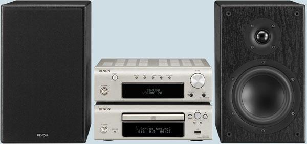 Denon D-F107, minicadena con lector de CD y puerto USB ...