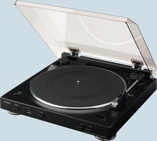 Denon dp 200usb plato giradiscos con usb - Plato discos vinilo ...