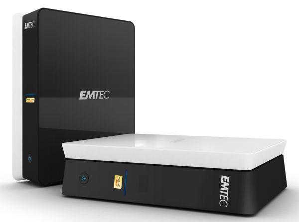 Emtec Movie Cube S120H, disco multimedia 1080p que gestiona las descargas