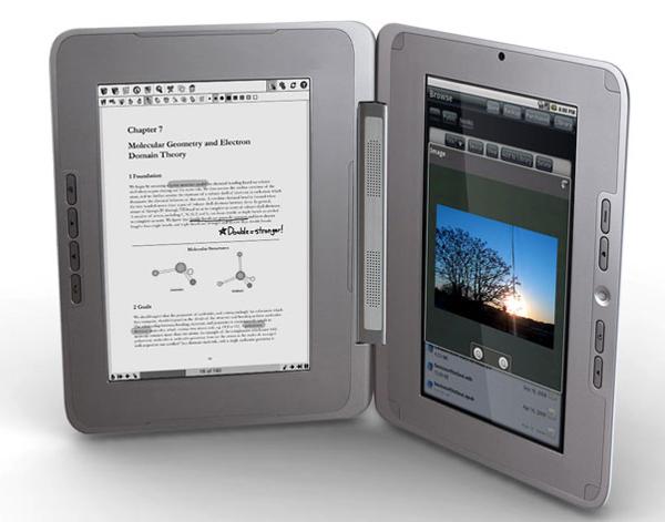 enTourage eDGe, dos pantallas en un solo lector