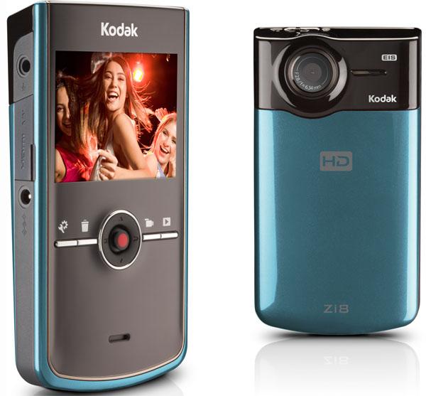 Kodak Zi8, una de las primeras videocámaras de la casa
