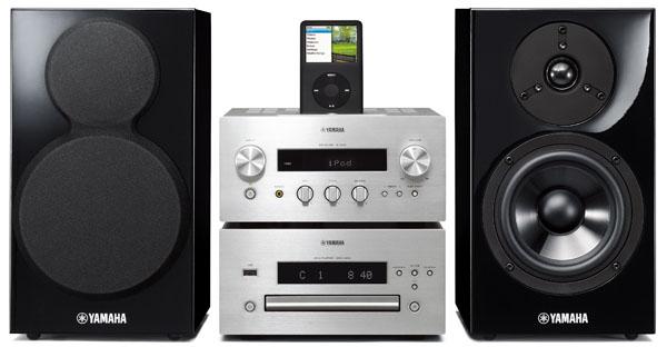 Yamaha MCR-840, microcadena con lector de DVD - tusequipos.com