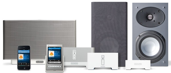 sonos zoneplayer s5 un sistema musical inal mbrico multihabitaci n para ipod. Black Bedroom Furniture Sets. Home Design Ideas