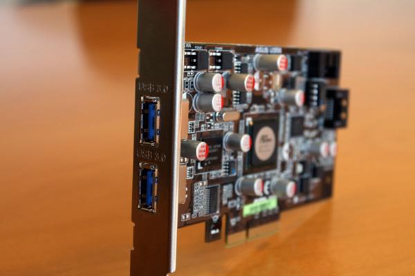 Asus U3S6, una placa PCI Express con puertos USB 3.0 y SATA 6.0