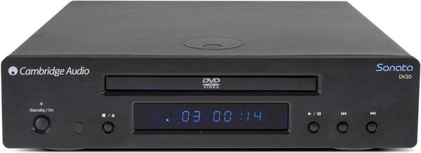 Cambridge Audio Sonata DV30, lector de DVD con electrónica Wolfson