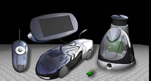 Corgi H2Go, un coche teledirigido que funciona con agua y energía solar