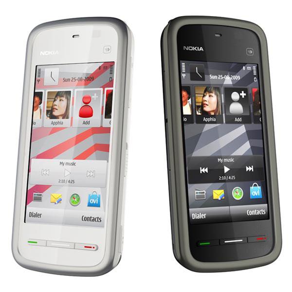 Nokia 5230, un móvil táctil con mucho estilo