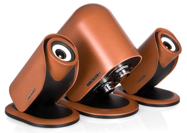Soyntec voizze 330 series altavoces de dise o cortitos de - Altavoces de diseno ...