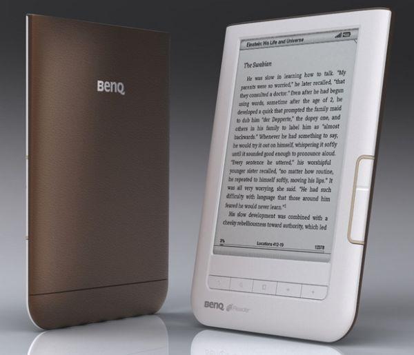 BenQ K60 nReader, lector de ebooks con Wi-Fi
