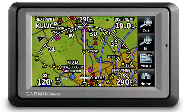 Garmin aera, navegadores GPS de altos vuelos
