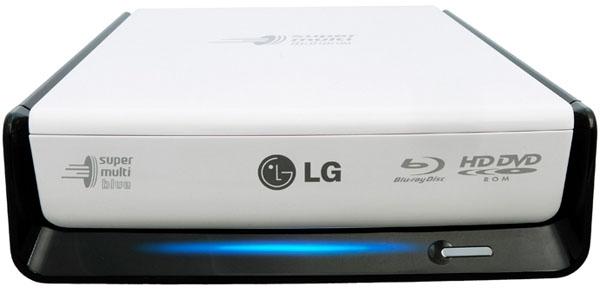 LG BE08LU10, grabadora externa de la nueva serie Super Multi Blue
