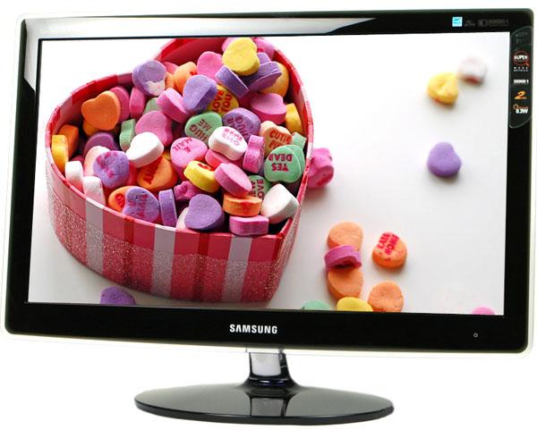 Samsung P2370HD, monitor con sintonizador de TDT
