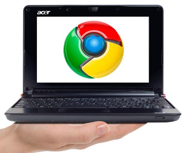 Acer tendrá su netbook con Google Chrome OS en 2010