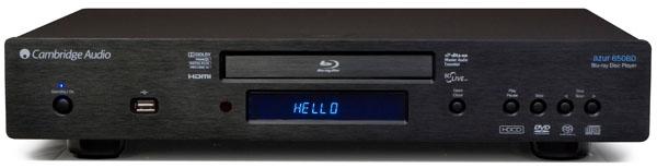 Cambridge Audio Azur 650BD, reproductor Blu-ray que también lee SACD y DVD-Audio