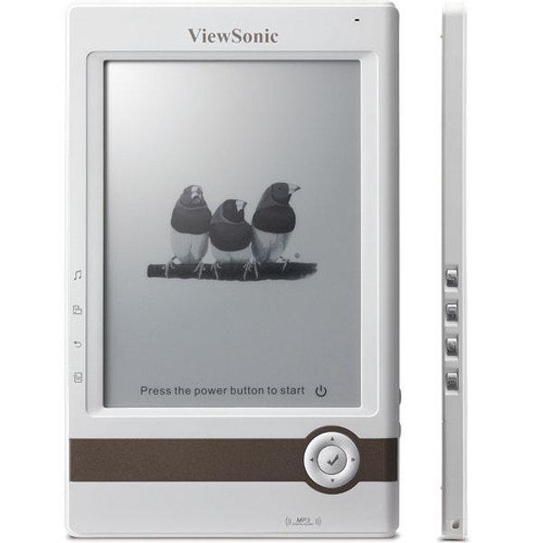ViewSonic VEB610, un lector de ebooks demasiado corriente