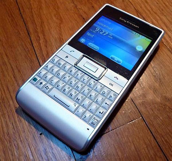 Sony Ericsson lanza el Faith, un terminal ecológico con teclado físico tipo Blackberry