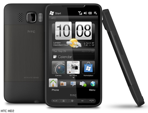 HTC HD3, filtradas las características en una web china
