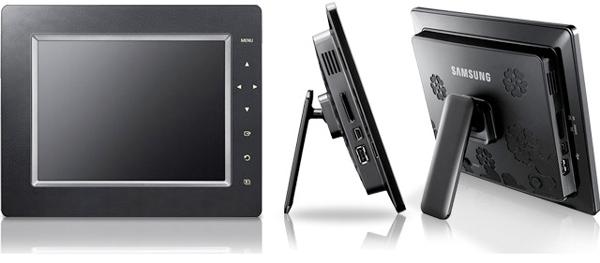 Samsung SPF-105P, a medio camino entre un marco digital y un pequeño ...