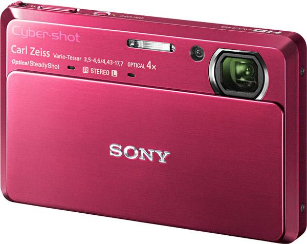 Sony Cybershot DSC-TX7, una cámara de fotos muy delgada y cara que graba vídeo en 1080p